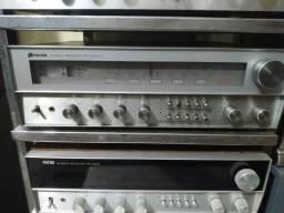 Receiver polyvox pr2200-s 50 watts por canal bruto