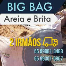 Areia e Brita no Big Bag