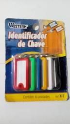 Identificador de chave com 6 unidades R$ 6,00 cada