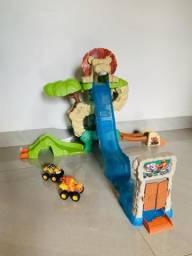 Pista Blaze de Monster Machine + 2 carrinhos