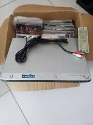 Leitor DVD LG Karaokê + 300 dvds (filmes)