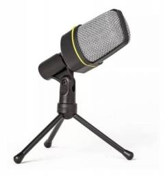 Microfone Condensador Andowl Qy-920 C/ Suporte