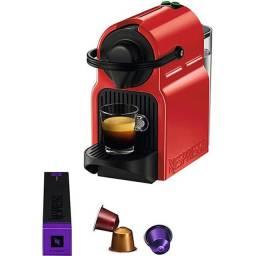 Cafeteira Nespresso Inissia Rubi Red - C40 (NOVA)