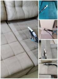 WF Higienização Limpeza Lavagem a seco
