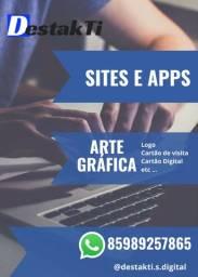 Site, Artes gráficas