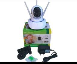 Câmera via Wi-Fi / visão noturna / Imagens HD / garantia
