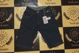 Bermuda Jeans de Alta Qualidade