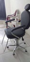 Cadeira de cabeleireiro nova