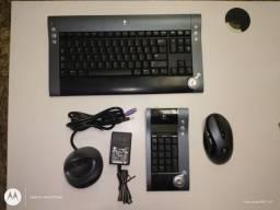Kit Logitech Bluetooth teclado e mouse sem fio