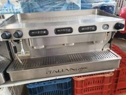 Máquina 3 grupos Italian Coffee