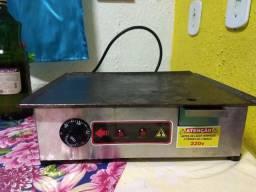 Chapa para lanches elétrica 220 w