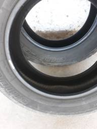 2 pneus / 17 traseiro  meia vida
