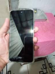 Motorola moto G7 branco de 64 GB e 4 GB de RAM
