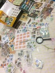 Coleção pequena de selos