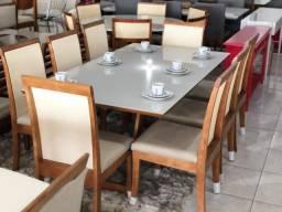 Título do anúncio: Mesa oito de jantar nova completa pronta entrega