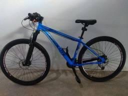 Título do anúncio: Bicicleta Absolute Azul Semi-novo