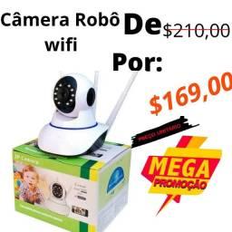 Na promoção wi-fi robô