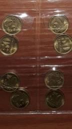 50 ctvos 1956 Brasão da República