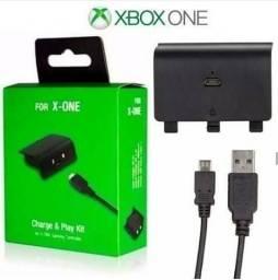 Kit contendo Bateria + Cabo Controle Xbox One