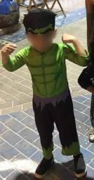 Título do anúncio: Fantasia do Hulk
