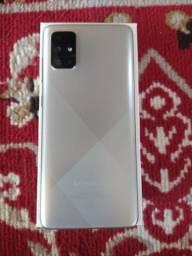 Samsung A71 novo com nota e com acessórios