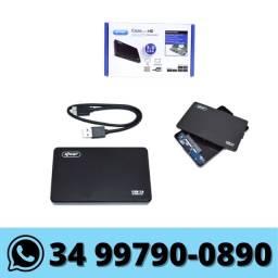 Case para HD Sata 2,5'' Usb 3.0 Slim