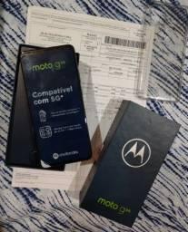 Vendo Motorola Moto G5G top 128 Gg novo na caixa com nota fiscal biometria digital facial<br>
