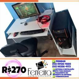 11. Promoção Mesa Computador + Carrinho Cpu - Entrega Grátis toda Manaus :)