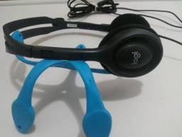 Headset Logitech H111 com Microfone
