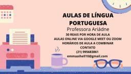 Título do anúncio: Aulas de Língua Portuguesa