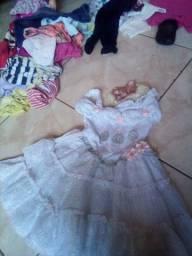 Vestido lindo para bebês