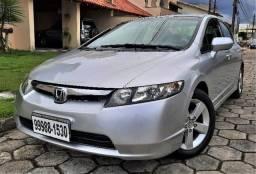 Civic LXS 1.8 Gasolina 16V Aut. 2007/08