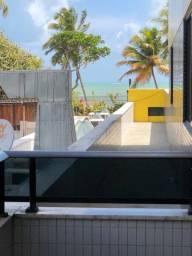 Título do anúncio: Alugo flat em cabo Branco vista mar mobiliado