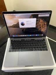 MacBook Pro 2016 Cinza Espacial 13/i5 DC 2.9GHz/8gb/256gb/30 ciclos de bateria