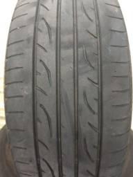 4 pneus Dunlop 205/55 R16 meia vida