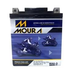 Bateria Moura CB 250 CB 300 Falcon 400 Moura0100
