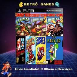 Mil Jogos De Super Nintendo Ps3 Bloqueado E Desbloqueado