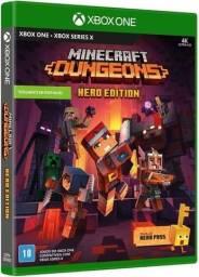 Jogo Minecraft Dungeons Hero Edition Xbox One Mídia Física Lacrado