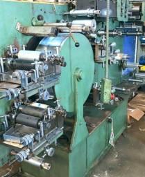 Máquina flexográfica 160 5 cor Uv Etirama Tambor central