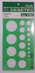 Gabarito Circulografo Desetec 4364