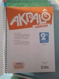 Coleção livros Akpalô completo, ensino fundamental 2° ano