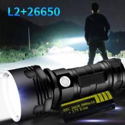 Poderoso Lanterna Led Xhp50 Tocha Usb Recarregável Waterp