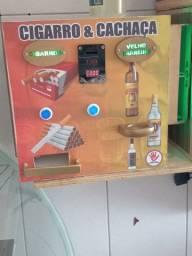 Título do anúncio: Máquina automática de cachaça e cigarro express!!!