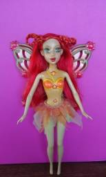 Título do anúncio: Barbie Fairytopia Magia do Arco Íris Fada Solar