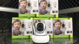 Título do anúncio: Câmera Ip Robô 360° Wi - fi Visão Noturna Infravermelho com áudio