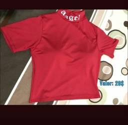Blusa angel vermelha 20$