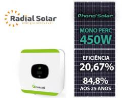 Gerador de Energia Solar Growatt Colonial Solar Group
