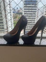 Título do anúncio: Scarpin Sapato Carmen Steffens preto