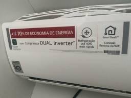 Ar-condicionado dual inverta com nota fiscal
