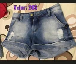 Vendo shorts!!! Leva os 2 é paga 30$